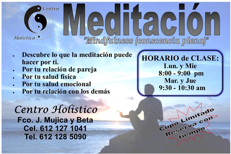 LLama para mas información.. o visita www.centroholisticolapaz.com